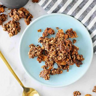 Oat-Free Coconut Almond Granola | Grain-Free + Vegan