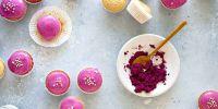 Pink Mini Vegan Donut Muffins