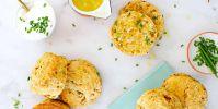 Chorizo + Scallion Sour Cream Biscuit + Egg Sandwiches