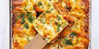 Overnight Miso-Braised Sausage + Chard Lasagne