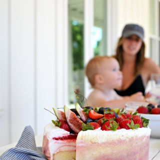 Fruit Basket Ice Cream Cake + Scenes from Sonoma