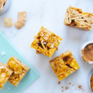 Salted Pumpkin Caramel Cinnamon Toast Crunchies