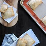 easy homemade cream cheese + pepper jelly (or blueberry) pop tarts | the pig & quill
