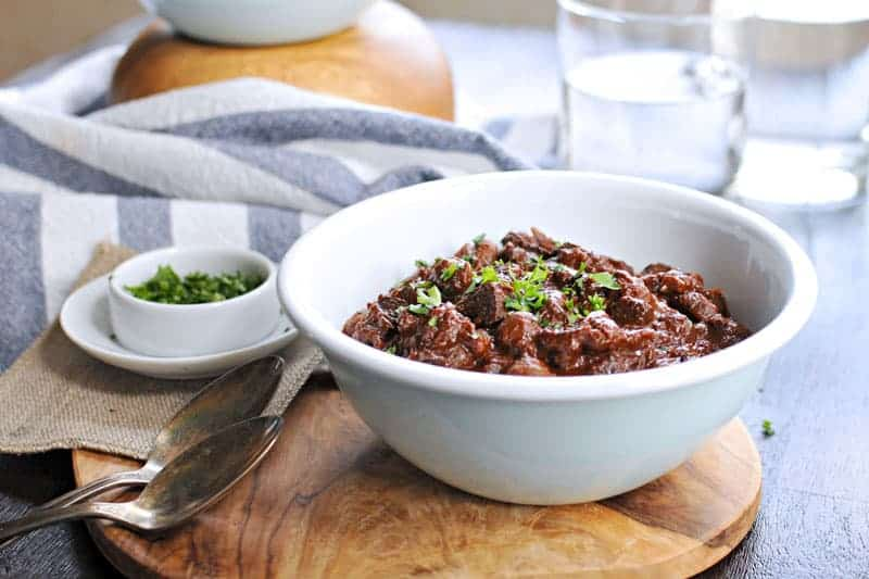 How-To: Baby Prep Freezer Meal Plan (Vegan Mole Chili) via thepigandquill.com