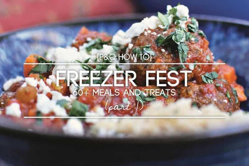 How-To: Baby Prep Freezer Meal Plan via thepigandquill.com