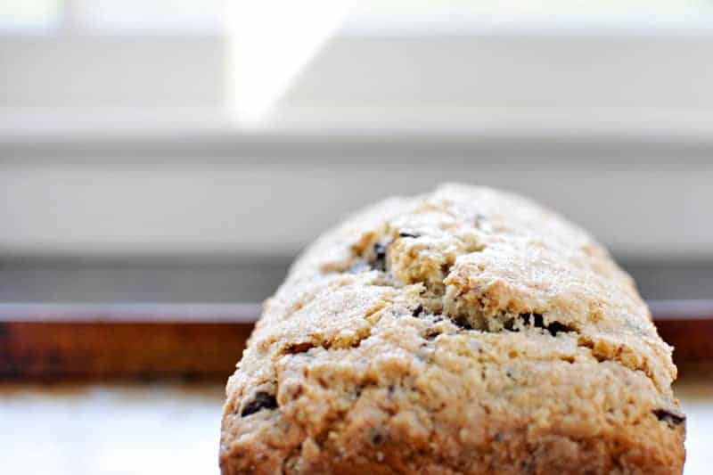 Triple Coconut + Chocolate Bread recipe (via thepigandquill.com) #dairyfree #baking #chocolate #coconut #holiday