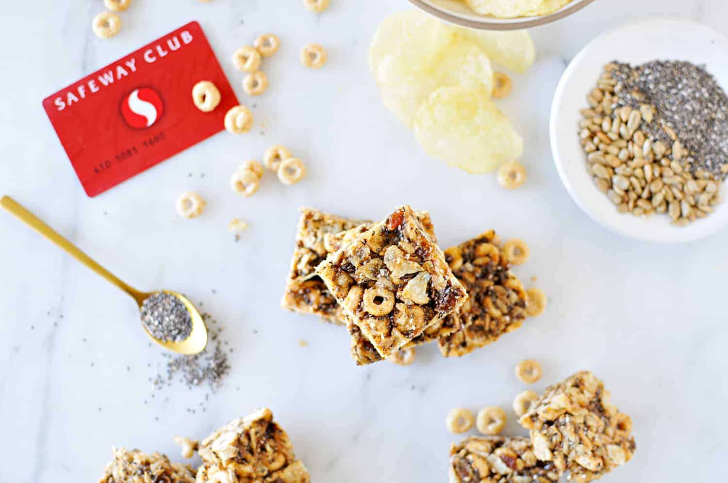 Gluten-Free Sweet and Salty Energy Bars / Our 10 Favorite Make-Ahead Breakfast Recipes (via thepigandquill.com) #mealprep