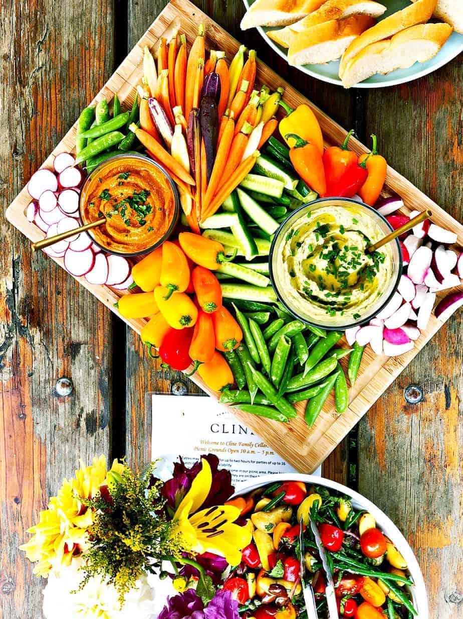 Gnocchi with Easy Romesco Sauce (Vegan-Optional) via thepigandquill.com #lunchboxidea #mealplan #dinner