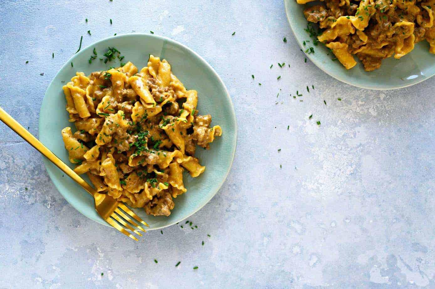 Instant Pot Homemade Hamburger Helper Recipe (via thepigandquill.com) #mealplan #dinner #weeknightmeal